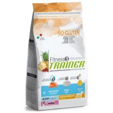 Trainer Fitnes3 Puppy & Junior MEDIUM MAXI - fish and rice 12,5kg