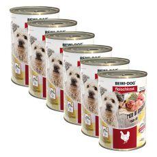New BEWI DOG konzerva – Chicken - 6 x 400g