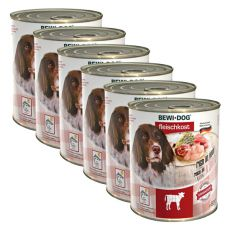 New BEWI DOG konzerva – Teľacie - 6 x 800g