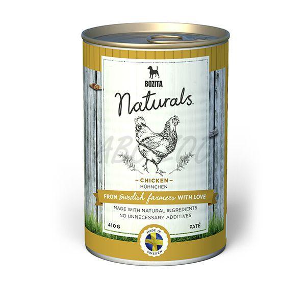Bozita Naturals Chicken & Lamb мясной паштет для собак (с курицей и ягненком)