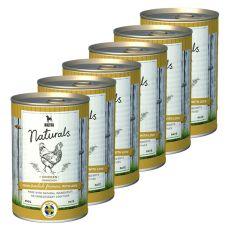 Bozita Naturals Chicken - konzerva, 6 x 410g