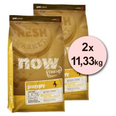 Petcurean NOW FRESH Grain Free PUPPY - 2 x 11,33kg