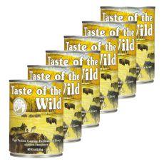 TASTE OF THE WILD High Prairie Canine - konzerva, 6 x 374g