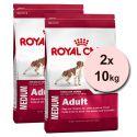 ROYAL CANIN MEDIUM ADULT 2 x 10 kg