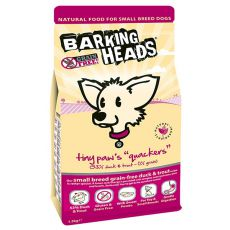 Barking Heads Tiny Paws Quackers Grain Free 1,5kg