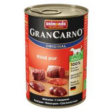 Konzerva GranCarno Original Adult hovädzie mäso - 400g