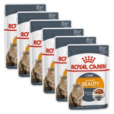 Royal Canin Intense Beauty Gravy kapsička pre mačky v šťave 6 x 85 g