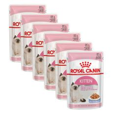 Royal Canin KITTEN Instinctive in Jelly 6 x 85 g - želé v kapsičke