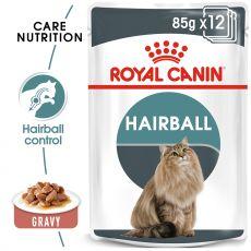 Royal Canin Hairball Care Gravy kapsička pre mačky v šťave 85 g