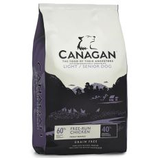 CANAGAN LIGHT/SENIOR DOG Free-Run Chicken – 12kg