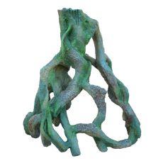 Dekorácia do akvária 2168 - Zelený koreň