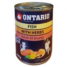 Konzerva ONTARIO Multi Fish a lososový olej – 400g