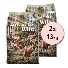 TASTE OF THE WILD Pine Forest 2 x 13kg