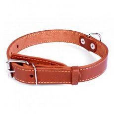 COLLAR kožený obojok pre psa - 38 - 50cm, 25mm - hnedý