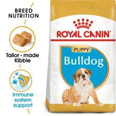 ROYAL CANIN Bulldog Puppy granule pre šteňa buldoga 3 kg