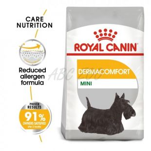 ROYAL CANIN Mini Dermacomfort granule pre malé psy s problémami s kožou 800 g