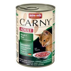 Krmivo CARNY ADULT hovädzie, srnec a brusnice - 400 g
