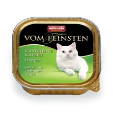 Animonda Vom Feinsten Castrated Cats - morčacie mäso 100g