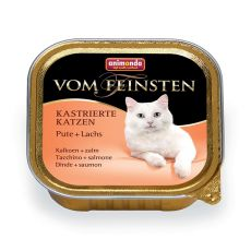 Animonda Vom Feinsten Castrated Cats - morka + losos 100g