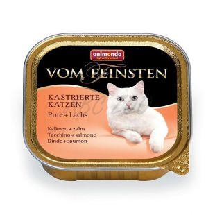Animonda Vom Feinsten Castrated Cats - morka + losos 100g