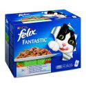 Felix Fantastic - mäsové a rybacie variácie so zeleninou, 12x100g