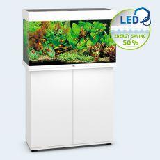 Set JUWEL akvárium Rio LED 125 biely + skrinka