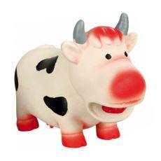 Hračka pre psa - latexová krava, 19cm