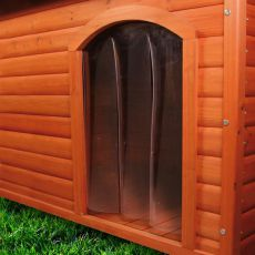 Dvierka na búdu pre psa, plastové - 32x45cm