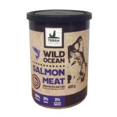 Konzerva Terra Natura Wild Ocean Salmon Meat 400g