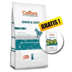 CALIBRA Cat HA Senior & Light Turkey 7kg + 2kg ZDARMA