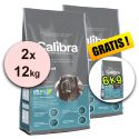 CALIBRA Premium Adult Large 2 x 12 kg + 6 kg