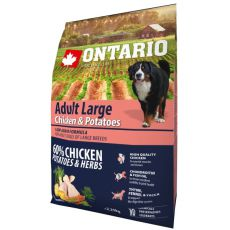 ONTARIO Adult Large - chicken & potatoes 2,25kg