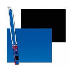 Pozadie do akvária BLACK/BLUE S - 60 x 30cm