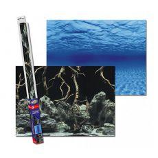 Pozadie do akvária ROOTS/WATERS L - 100 x 50cm