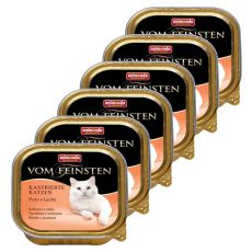 Animonda Vom Feinsten Castrated Cats - morka + losos 6 x 100g