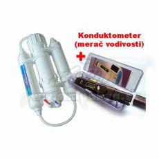 Reverzná osmóza 190l+ Konduktometer ADWA