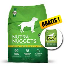 NUTRA NUGGETS Large Breed Adult 15kg + 3kg GRATIS