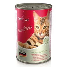 Konzerva BEWI CAT Meatinis WILD, 400g