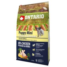 ONTARIO Puppy Mini - chicken and potatoes 0,75kg
