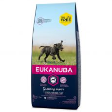 EUKANUBA PUPPY & JUNIOR Large Breed 15kg + 3kg ZDARMA