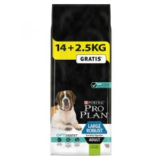 Purina PRO PLAN ADULT Large Robust Sensitive Digestion 14kg + 2,5kg