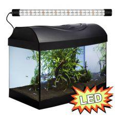 Akvárium STARTUP 40 LED Expert 4W - ROVNÉ - ČIERNE