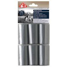 8in1 Náhradné vrecúška na odpad - 6 x 15 ks