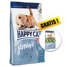 Happy Cat Supreme Junior 10kg + 4kg ZDARMA