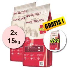 Fitmin MEDIUM Maintenance 2x15kg + 4kg - DOPRAVA ZDARMA