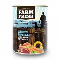Farm Fresh - Buffalo with Sweet Potatoes 400g