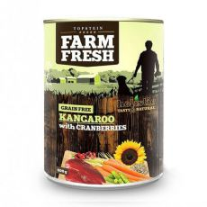 Farm Fresh - Kangaroo with Cranberries 400g