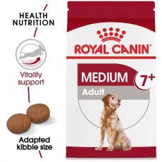 ROYAL CANIN Medium Adult 7+ granule pre dospelé starnúce stredné psy 15 kg