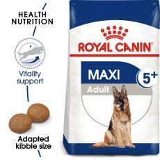 ROYAL CANIN Maxi Adult 5+ granule pre dospelé starnúce veľké psy 15 kg
