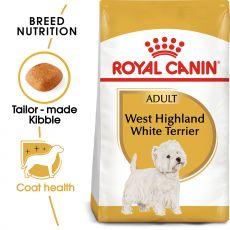 ROYAL CANIN Westie Adult granule pre dospelého westhinghlandského bieleho teriéra 1,5 kg